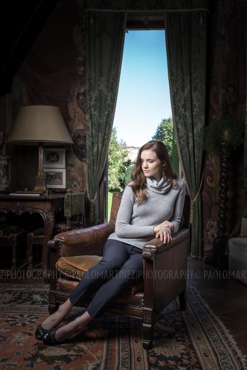 Laura Henshaw for Piacenza Cashmere | ADV 2014/2015